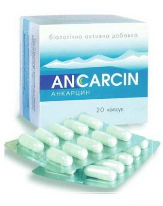 Анкарцин инструкция цена